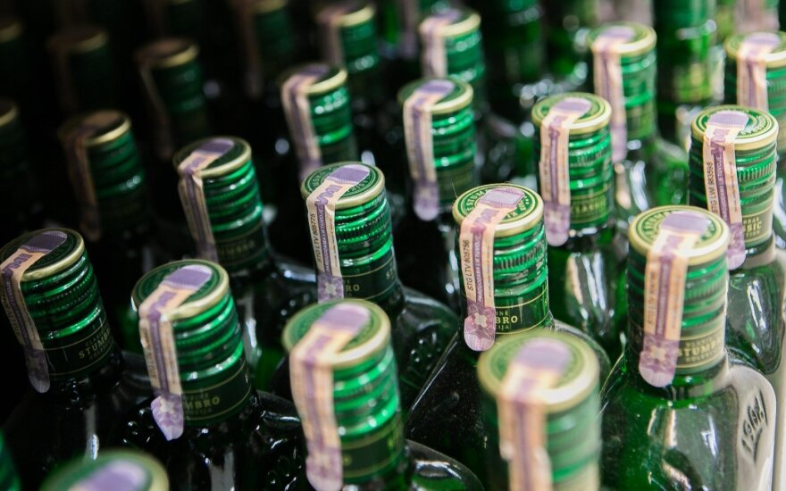 Новые данные: сколько алкоголя употребили в прошлом году жители Литвы