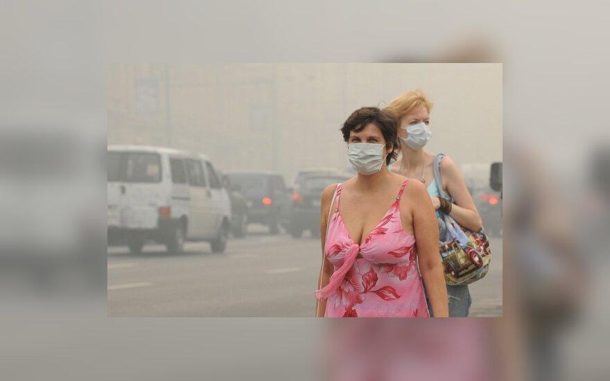 В Москве из-за жары и дыма выросла смертность