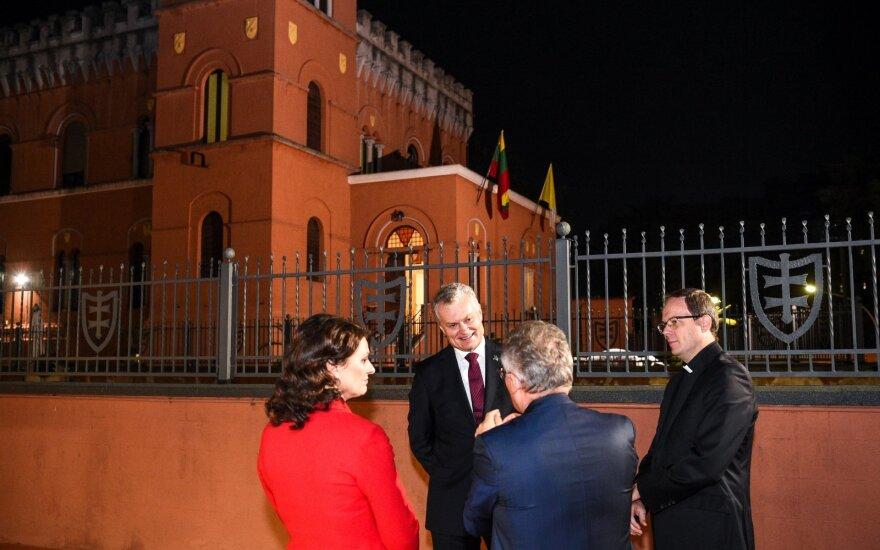 Науседа встретился с главой Италии: литовские продукты высоко ценят в Италии