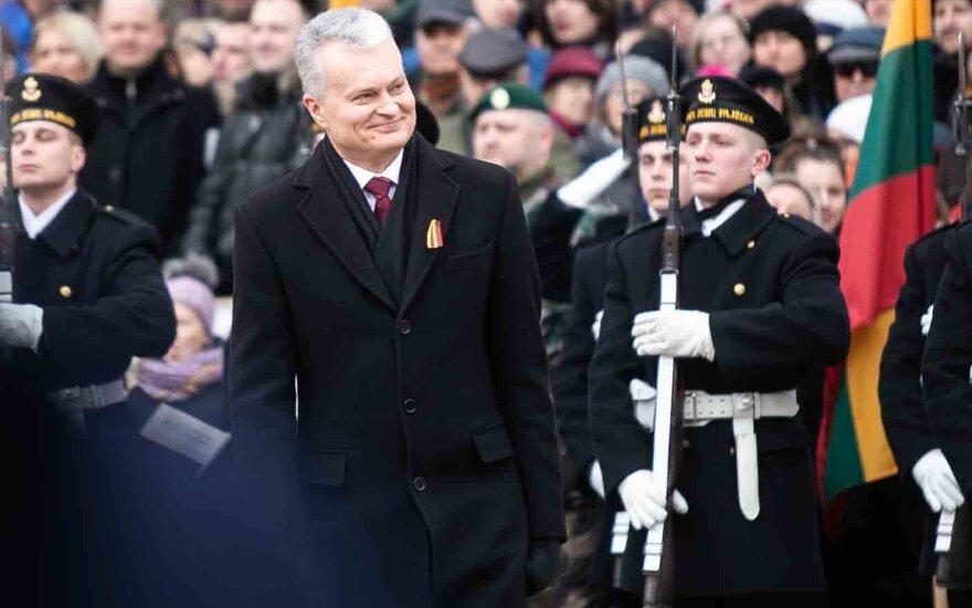 Президент Литвы: сегодня мы празднуем осуществление красивой мечты