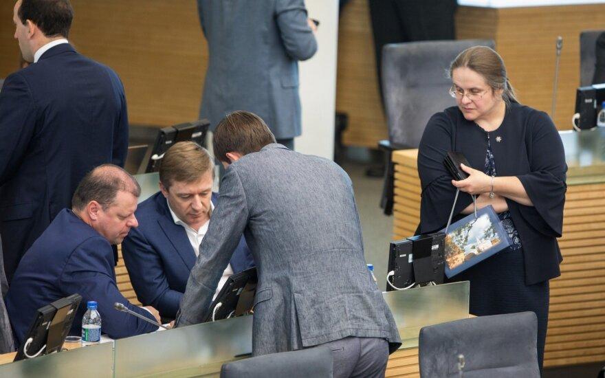 Сейм Литвы во втором чтении принял налоговую реформу