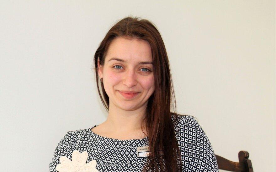 Сара из Македонии полюбила Клайпеду и открыла в городе особое место