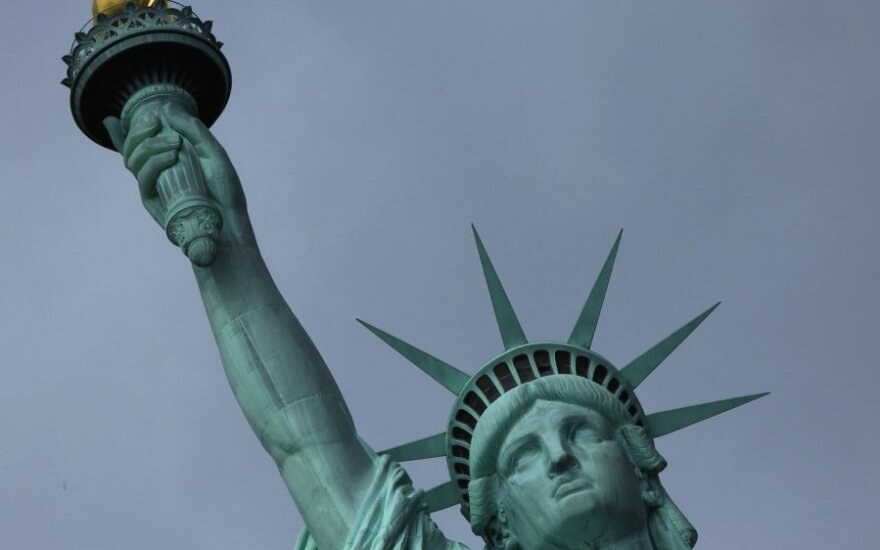 Niujorke atidengta restauruota garsioji Laisvės statula