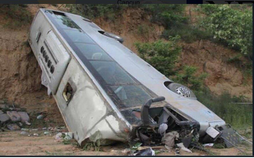 Autobuso avarija Meksike