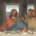 """Leonardo da Vinčio freska  """"Paskutinė vakarienė"""""""