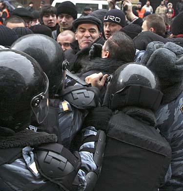 Rusijos milicija sulaiko Garį Kasparovą