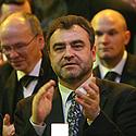 Egidijus Kūris (centre)