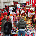 Londonas prieš Kalėdas, pardavėjas, suvenyrai