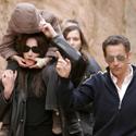 Nicolas Sarkozy, Carla Bruni ir jos sūnus