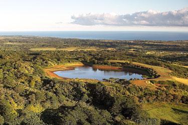 Ežeras Kauai saloje Havajuose