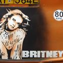Piešinys ant autobuso su Britney Spears atvaizdu Nairobyje (Kenija)