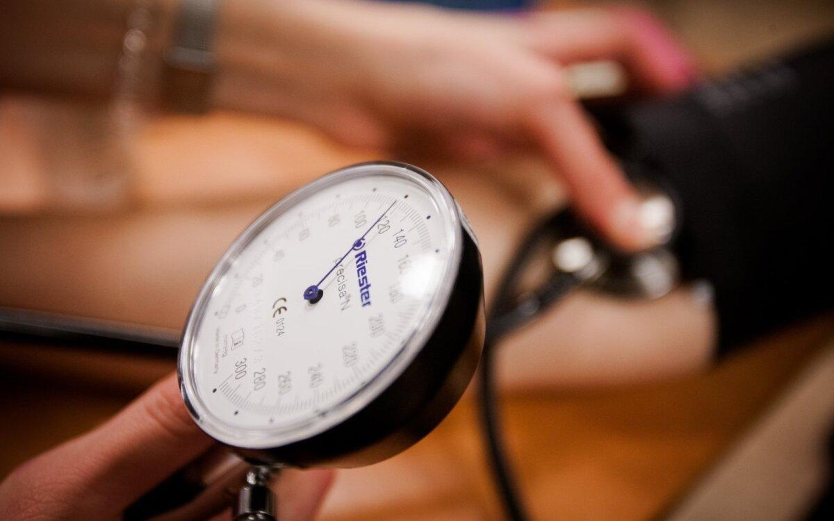 hipertenzijos komplikacijų diagnozė