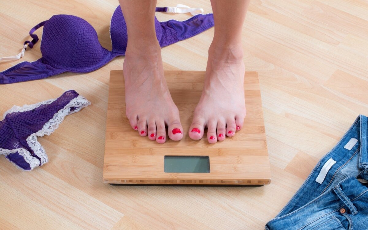 kūno skausmas ir svorio kritimas