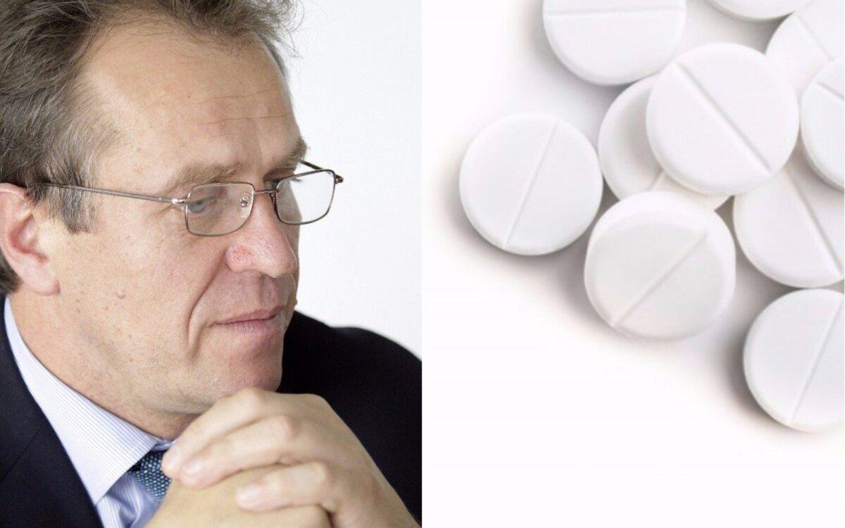 maža aspirino dozė širdies sveikatai)