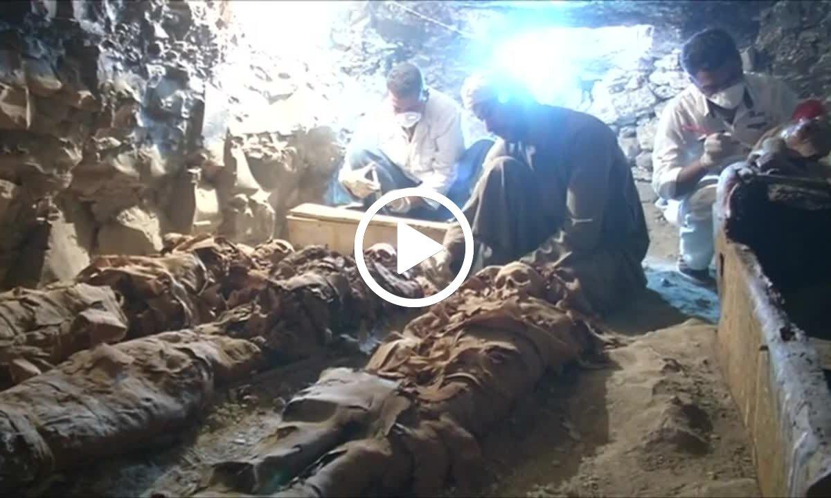 Egipte atrasta nauja kapavietė, papildysianti gausųjį Luksoro lobyną