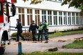 Klaipėdos Ievos Simonaitytės mokykloje dėl pavojaus nutrauktos pamokos, visi evakuoti