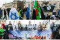Netikėtumai tautininkų eitynėse – vėliava su Dovydo žvaigžde ir kelią pastojęs lenkas