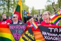 Rainbow Bus: protest held next to the Russian Embassy