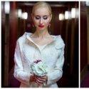 Šokėja Kristina Tarasevičiūtė pasimatavo neįprastą nuotakos suknelę