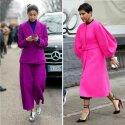 """Rožinę spalvą renkasi stiprios ir stilingos moterys: verslininkė Olga Karput, mados redaktorė Caroline Issa ir """"Vogue Arabia"""" vyr. redaktorė Deena Aljuhani Abdulaziz"""