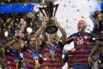 JAV futbolininkų triumfas