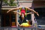 Tarptautinėje akrobatinės jogos mokymų savaitėje – 9 šalių atstovai
