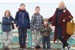 Birutė Jakučionytė su sūnimis