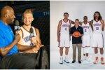 Domantas Sabonis Thunder žiniasklaidoje dienoje (NBA nuotr.)