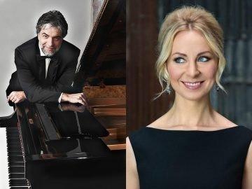 2018 m., XXIII Pažaislio muzikos festivalis; Petras Geniušas, Justina Gringytė, Kauno valstybinėje filharmonijoje.
