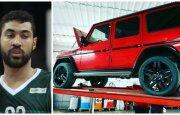 Augusto Lima ir jo automobilis (DELFI, Instagram nuotr.)