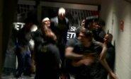 """""""Pistons"""" žaidėjų siautulys arenos užkulisiuose kartu su Marjanovičiumi priešakyje"""