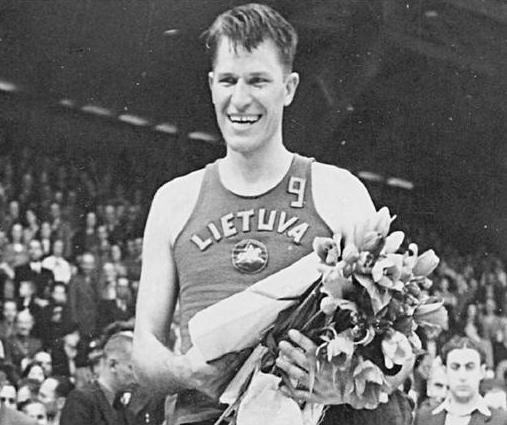 1939 EuroBasket MVP Pranas Lubinas in Kaunas