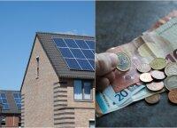 Norintiems įsirengti saulės elektrinę – nemenka valstybės parama, tačiau reikia paskubėti