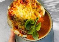 Namuose pasigaminsite paprastai ir greitai: picos skonio tiršta sriuba