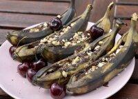 Kepti bananai su šokoladu nudžiugins ne tik vaikus