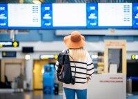 Sugriovė lietuvių nusistatymą, kad šiuo metu kelionės yra sudėtingos: oro uoste pandemiją primena tik kaukės