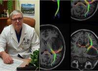 Sunku patikėti, kokios Lietuvoje atliekamos operacijos: žmogus bent pusvalandį kalba ir juda atvertu galvos skalpu