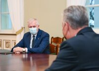 Office: president and Anusauskas' defense priorities match