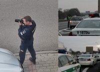 Policija visoje Lietuvoje rengia neįprastą akciją: vairuotojus stebi pasitelkę fotoaparatus