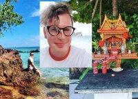 Ilgiausių Saugirdo Vaitulionio atostogų Tailande nesugadino net uragano grėsmė: nesupratu tų, kurie čia važiuoja gulinėti kaip į kokią Turkiją