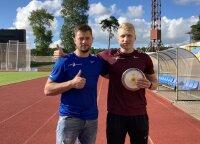 Įspūdingi disko skrydžiai Klaipėdoje: krito Lietuvos rekordas, o Gudžius pasiekė ketvirtą rezultatą pasaulyje