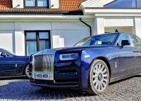 """Naujojo """"Rolls-Royce Phantom"""" testas: <em>flagmanas</em> be konkurencijos"""