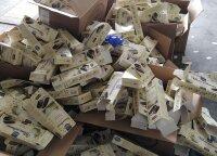Įtartini tortai – patikrinę konditerijos siuntą iš Maskvos, muitininkai rado 1,5 mln. eurų cigarečių kontrabandą