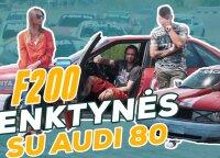 """""""Spausk Gazą!"""" iššūkis """"Audi 80"""": kiek senolė patemps lenktynėse?"""