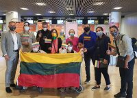 Nine Lithuanians relocated from Venezuela
