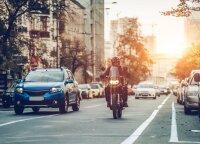 Sušilus orams gatvėse daugėja motociklų: kaip pasiruošti pirmajai sezono išvykai