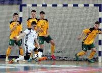 Jaunimo salės futbolo rinktinei keturis įvarčius be atsako atseikėjo Andora