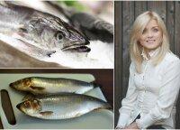 Mokslų daktarė patarė, kokia žuvis mums naudingiausia ant švenčių stalo