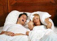 Gydytojas patarė, kaip iš miegamojo išguiti knarkimą