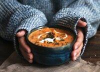 10 karštų sriubų, kurios sušildys šaltą žiemą